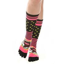 Hot Topic Calcetas Domo Comic Knee-high Toe Socks