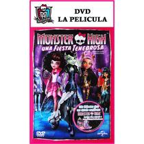 Dvd Película Monster High Ghoul Rules Original Muñecas