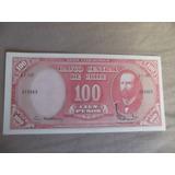 Billete De 100 Pesos,10 Centesimos De Escudo,nuevo.