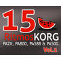 Ritmos Únicos Y Exclusivos Korg Pa2x, Pa800, Pa588 & Pa500.