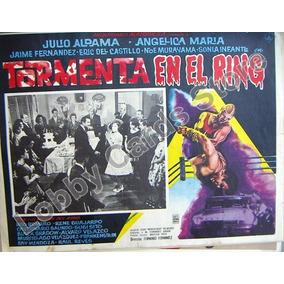 Lobby,cartel ,tormenta En El Ring,angelica Maria,hwo