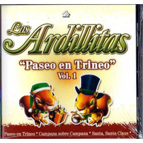 Canciones De Navidad 2 Cd De Las Ardillitas Vol. 1 Y 2 2005