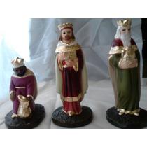 Reyes Magos 10 Cm -artesanía 100% Mexicana-