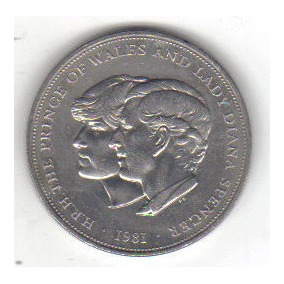 25 Penique 1981 Reino Unido Inglaterra Escocia Irlanda Gales