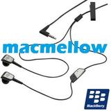 Audifonos In-ear Manos Libres Blackberry Curve 9300