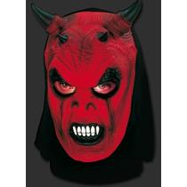 Máscara Diabo Capeta Demônio - Terror Halloween