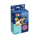 Epson Kit Cartucho Y Papel T5845-m 4 Colores, 100 Páginas