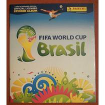 Álbum Figurinhas Copa Do Mundo 2014 - Completo - Para Colar