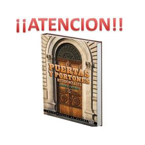 Puertas Y Portones Residenciales Madera + Hierro 1 Vol Herre