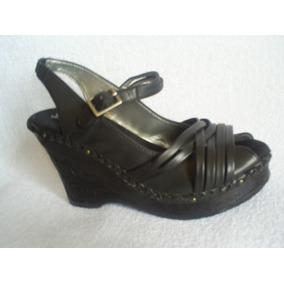 Zapato-chala Estilo Hippie Taco Chino Diseño, Numero 35,