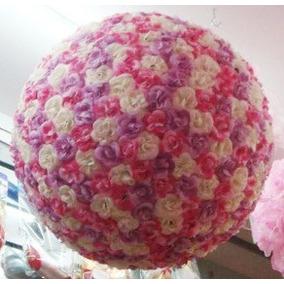 Topiario Artificial De Flores Sp0
