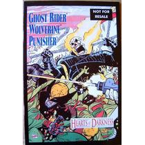 Wolverine Ghost Rider Punisher / Marvel Comics