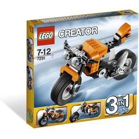 Lego, Moto Serie Creator, 3 En 1.