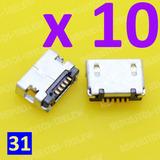 Jack Microusb X 10 Unidades - Modelo 31 - Hp Slate Tablet