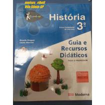 Livro Professor História Ens. Fundamental 3º Ano Conviver K1