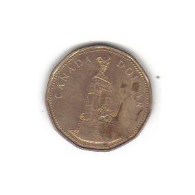 1 Dollar 1994 Moneda Canadá Reina Elizabeth Il - Vbf