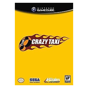 Crazy Taxi Game Cube Wii