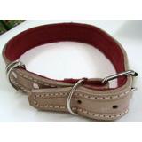 Perros Collar Perros Resistente Piel Para Cuello 25-60 Cm