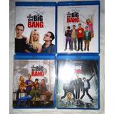 La Teoria Del Big Bang Temporadas 1 2 3 4 En Blu-ray