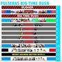 Paquete De 10 Pulseras Para Amarrar Big Time Rush, Btr, Loga