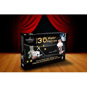 Kit Profissional 30 Mágicas Com Dvd - Fácil De Aprender