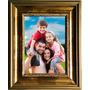 Quadro Porta Retrato Foto 15x21 Moldura De Madeira Com Vidro