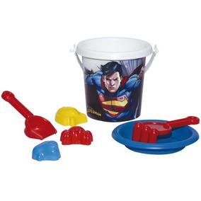 Conjunto De Praia Superman Brinquedo Menino Novabrink
