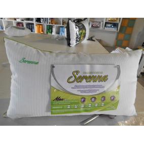 Almohadas Serena Max, Con Vivo Y Bordado Fibra Siliconada