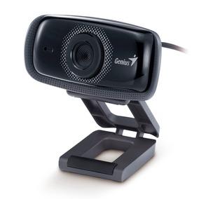 Webcam Camara Genius Facecam 321 Con Microfono Pc Notebook
