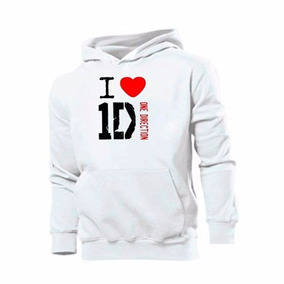 Blusa One Direction I Love Moletom Canguru - Pronta Entrega!