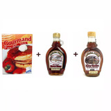 Kit Panqueca Xarope De Bordo Maple Syrup 100% E 15% Hachi8