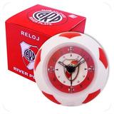 Set Despertador Pelota Y Llavero Destapador River Plate