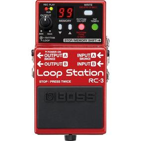 Pedal Para Guitarra Boss Rc-3 Loop Station