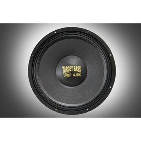 Alto Falante Eros Target Bass E-15 4.5k 2250w Rms 4ohms