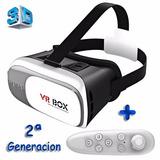 Vr Box 2ª Gen. Realidad Virtual 3d Remoto Regalo Importador