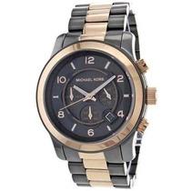Relógio We1 Michael Kors Mk8189 Unissex Cinza Bronze 45mm