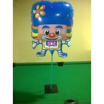 Balão Metalizado Palhaço E Patati E Patatá - 10 Unidades