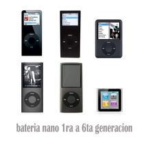 Bateria Para Ipod Nano 2 3 4 Generacion