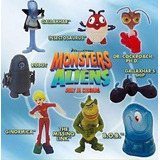 Coleccion Completa Monstruos Vs. Aliens (mc. Donalds 2009)