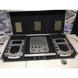 Cdj Pionner 100s + Mixer Behringer Vmx300 + Case