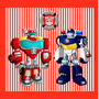 Kit Imprimible Transformers Rescue Bots Deco Y Candy Bar