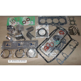 Kit Retifica Do Motor Ford Fiesta / Ka 1.0 8v Gas Hcs Endura