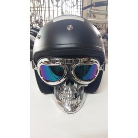 Óculos De Proteção Capacete Vintage - Acessórios de Motos no Mercado ... ea9ea77962