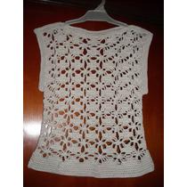 Blusa Calada Tejida A Crochet