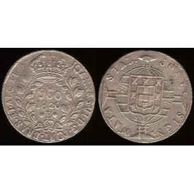 960 Reis - 1820b - Var 7/6b