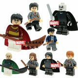 Exclusivo Set De 8 Figuritas Harry Potter Coleccionables