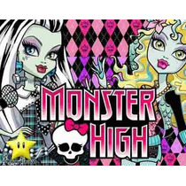 Kit Imprimible Monster High Diseñá Tarjetas, Cumples 2x1