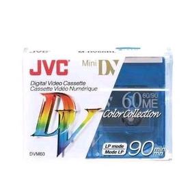 Fita De Video Mini Dv M-dv60 Jvc Kit Com 5 Unidades