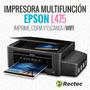 Impresora Epson L475 / Multifuncion Sistema Tinta Continuo