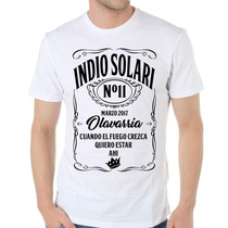 Remera Indio Solari Redondos Olavarria 2017 Somos Local!